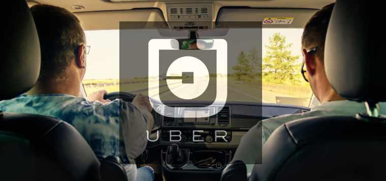 how uber dash cam works